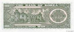 100 Won CORÉE DU SUD  1965 P.38a pr.NEUF