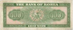 100 Won CORÉE DU SUD  1962 P.36 TB