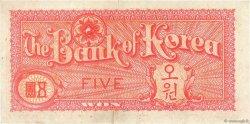 5 Won CORÉE DU SUD  1953 P.12 TTB