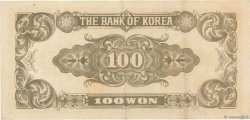 100 Won CORÉE DU SUD  1950 P.07 TTB+