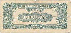 1000 Won CORÉE DU SUD  1950 P.08 AB