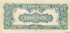 1000 Won CORÉE DU SUD  1950 P.08 TTB+