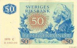 50 Kronor SUÈDE  1970 P.53a SUP