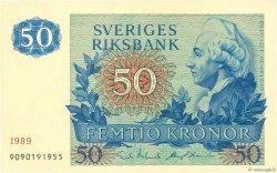 50 Kronor SUÈDE  1989 P.53d SPL