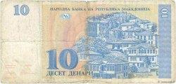 10 Denari MACÉDOINE  1993 P.09a B