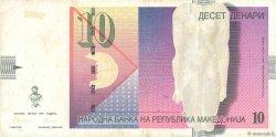 10 Denari MACÉDOINE  1997 P.14b TTB