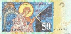50 Denari MACÉDOINE  1996 P.15a pr.NEUF