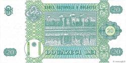 20 Lei MOLDAVIE  1992 P.13a NEUF