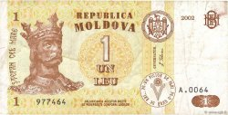 1 Leu MOLDAVIE  2002 P.08e TB