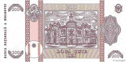 200 Lei MOLDAVIE  1992 P.16a NEUF