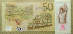 50 Dollars SINGAPOUR  2015 P.New NEUF