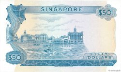 50 Dollars SINGAPOUR  1973 P.05d TTB
