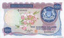 100 Dollars SINGAPOUR  1973 P.06d TTB+