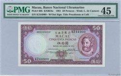 50 Patacas MACAO  1981 P.060b SUP+