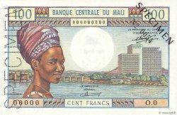 100 Francs MALI  1972 P.11s SPL+