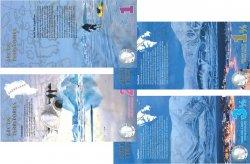 Lot de 4 billets Polar Dollars LOTS  2012 P.- NEUF