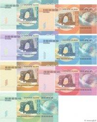 Lot de 7 billets Sucres LOTS  2015 P.- NEUF
