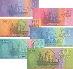 Lot de 6 billets Escudos ANGOLA  2015 P.- NEUF