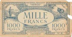 1000 Francs FRANCE régionalisme et divers  1940  TB