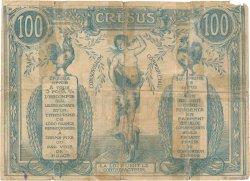 100 Francs de Marchandises FRANCE régionalisme et divers  1914  pr.B