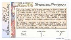 1 Ecu FRANCE régionalisme et divers  1994  NEUF