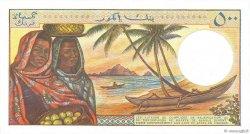 500 Francs COMORES  1986 P.10a NEUF