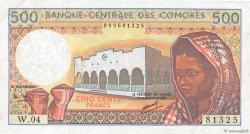 500 Francs COMORES  1994 P.10b TTB