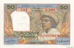 50 Francs COMORES  1963 P.02b SPL