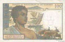 100 Francs COMORES  1963 P.03b TTB