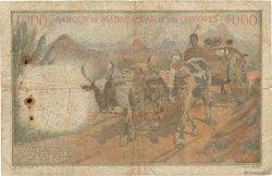 1000 Francs COMORES  1960 P.05a pr.TB
