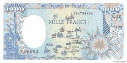 1000 Francs type 1984 modifié TCHAD  1992 P.10Ac pr.NEUF