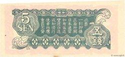 5 Sen CHINE  1939 P.M10 SPL