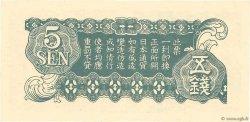 5 Sen CHINE  1939 P.M10 pr.NEUF