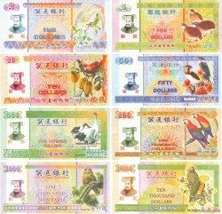 Lot de 8 billets Hell Bank Note CHINE  2015  pr.NEUF