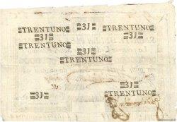 31 Scudi ITALIE  1798 PS.329 SUP