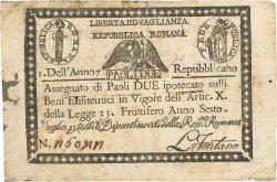 2 Paoli ITALIE  1798 PS.535 pr.B