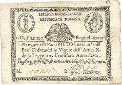 8 Paoli ITALIE  1798 PS.538 TTB