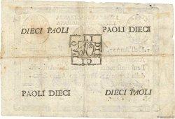 10 Paoli ITALIE  1798 PS.540c TTB