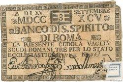 3 Scudi ITALIE  1795 PS.377 AB