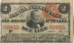 2 Lire ITALIE  1866 PS.732 TB
