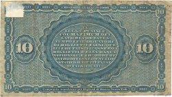 10 Lire ITALIE  1866 PS.736 TB