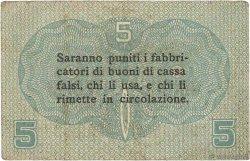 5 Centesimi ITALIE  1918 PM.01 TTB