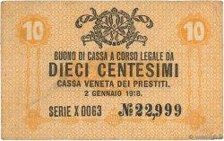 10 Centesimi ITALIE  1918 PM.02 TTB