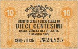 10 Centesimi ITALIE  1918 PM.02 TTB+