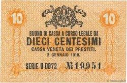 10 Centesimi ITALIE  1918 PM.02 SUP+