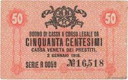50 Centesimi ITALIE  1918 PM.03 TTB