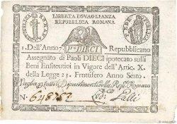10 Paoli ITALIE  1798 PS.540a SPL