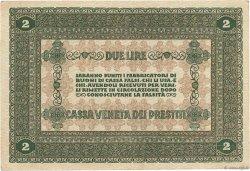 2 Lires ITALIE  1918 PM.05 TTB