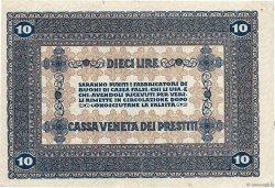 10 Lire ITALIE  1918 PM.06 TTB