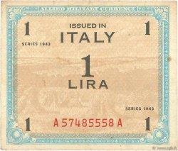 1 Lire ITALIE  1943 PM.10a TB